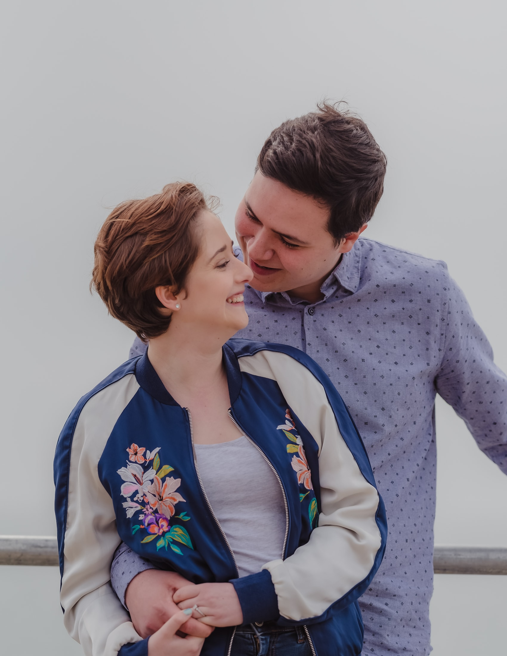 Jade & Ed share some wonderful moments together at Southend-on sea at their engagement session